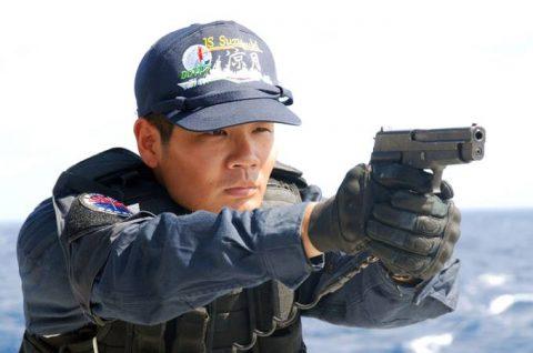 派遣海賊対処行動水上部隊(25次隊)訓練の様子レポート3No3