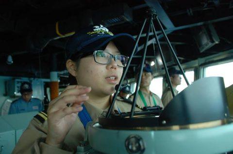 派遣海賊対処行動水上部隊(25次隊)訓練の様子レポート3No4