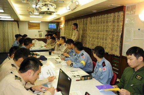 派遣海賊対処行動水上部隊(25次隊)訓練の様子レポート3No7