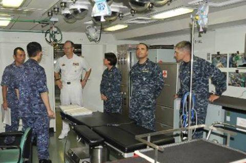 海自 パシフィック・パートナーシップ2016 米海軍と訓練No2