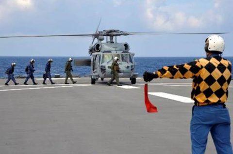 海自 パシフィック・パートナーシップ2016 米海軍と訓練No3