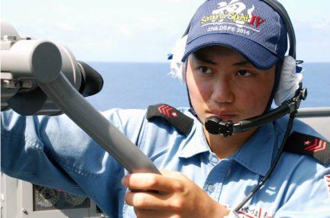海自派遣海賊対処行動水上部隊(25次隊)いなづまの様子レポート4No1