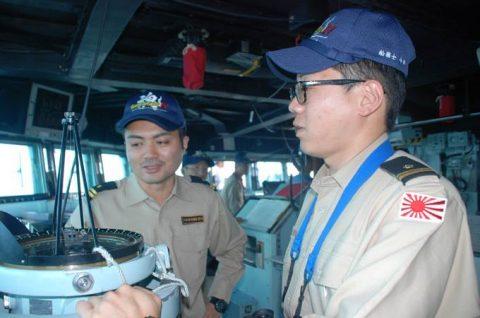 海自派遣海賊対処行動水上部隊(25次隊)いなづまの様子レポート4No3
