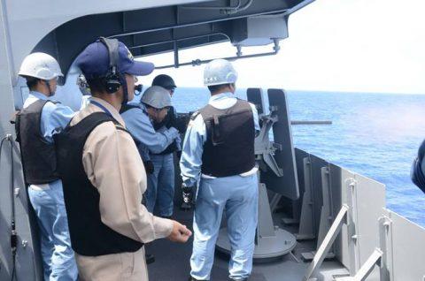 海自派遣海賊対処行動水上部隊(25次隊)いなづまの様子レポート4No4