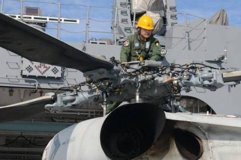 海自派遣海賊対処行動水上部隊(25次隊)いなづまの様子レポート4No5