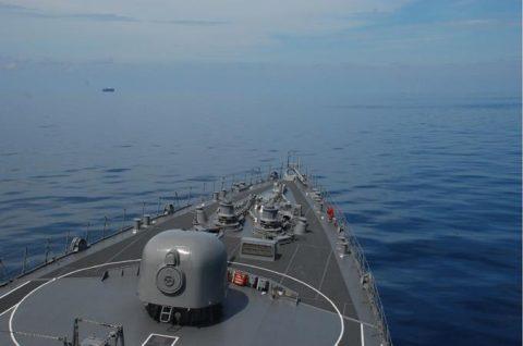 海自派遣海賊対処行動水上部隊(25次隊)いなづまの様子レポート4No7