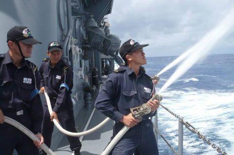 平成28年度 海上自衛隊幹部候補生 遠洋練習航海12ペンタゴン等No8