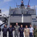 掃海母艦「ぶんご」 機雷戦訓練イギリス、オーストラリア及び韓国