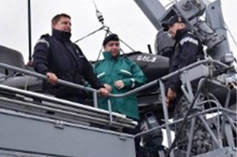 掃海母艦「ぶんご」 機雷戦訓練イギリス、オーストラリア及び韓国No4