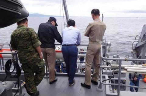 掃海母艦「ぶんご」 機雷戦訓練イギリス、オーストラリア及び韓国No6