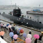 平成28年度第1回米国派遣訓練 潜水艦「たかしお」出国