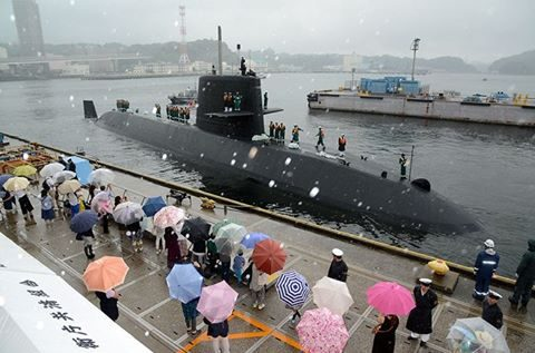 平成28年度第1回米国派遣訓練 潜水艦「たかしお」出国No1