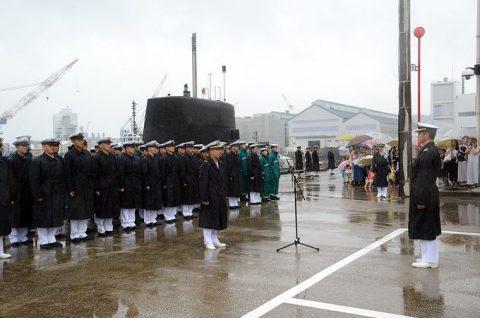 平成28年度第1回米国派遣訓練 潜水艦「たかしお」出国No2