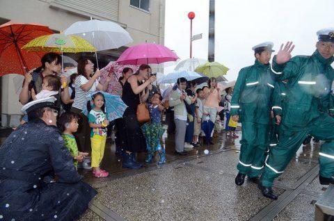 平成28年度第1回米国派遣訓練 潜水艦「たかしお」出国No3