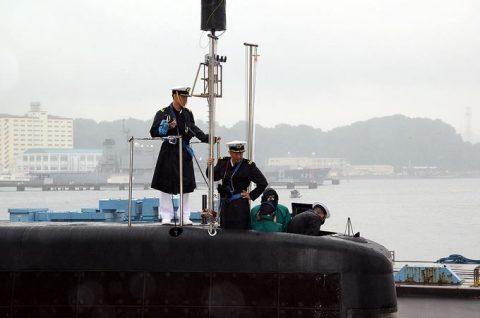 平成28年度第1回米国派遣訓練 潜水艦「たかしお」出国No4