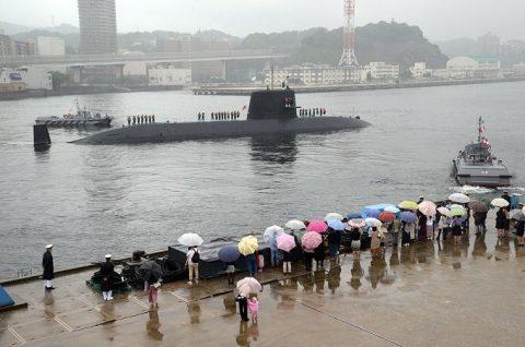 平成28年度第1回米国派遣訓練 潜水艦「たかしお」出国No5
