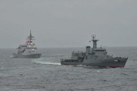 海上自衛隊ソマリア沖・アデン湾海賊対処行動水上部隊(25次隊)いなづま5No1