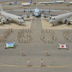 海上自衛隊 海賊対処任務 飛行回数1600回記念
