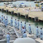 海上自衛隊ソマリア沖・アデン湾海賊対処行動水上部隊(25次隊)いなづま5