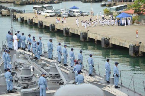 海上自衛隊ソマリア沖・アデン湾海賊対処行動水上部隊(25次隊)いなづま5No3
