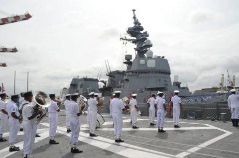 海上自衛隊ソマリア沖・アデン湾海賊対処行動水上部隊(25次隊)いなづま5No4
