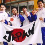 フィンスイミングマスターズワールドカップに参加(日本代表)