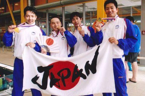 フィンスイミングマスターズワールドカップに参加(日本代表)No1