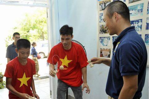 パシフィック・パートナーシップ2016 ベトナム寄港中しもきたNo6