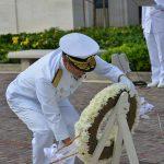 海自RIMPAC2016 国立太平洋記念墓地・マキキ日本海軍墓地