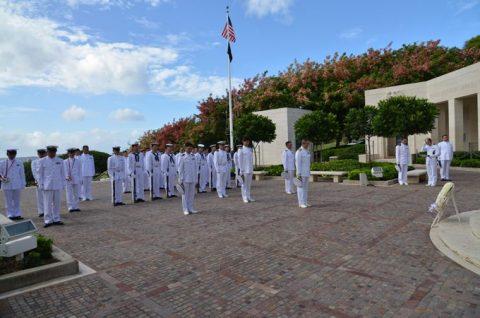 海自RIMPAC2016 国立太平洋記念墓地・マキキ日本海軍墓地No3