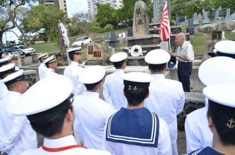 海自RIMPAC2016 国立太平洋記念墓地・マキキ日本海軍墓地No6