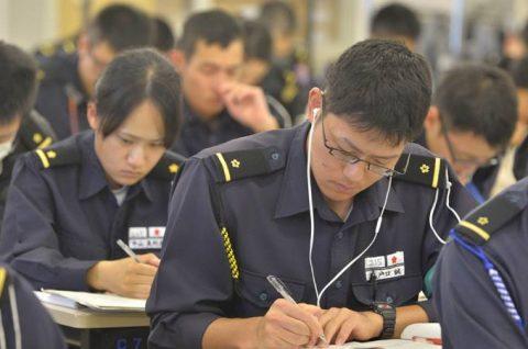 平成28年度 防衛省海自幹部候補生 遠洋練習航海13洋上訓練No4