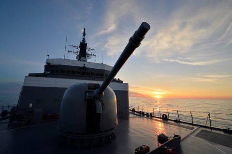 平成28年度 防衛省海自幹部候補生 遠洋練習航海13洋上訓練No5