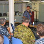 RIMPAC2016 護衛艦「ひゅうが」で潜水医学専門家の意見交換会