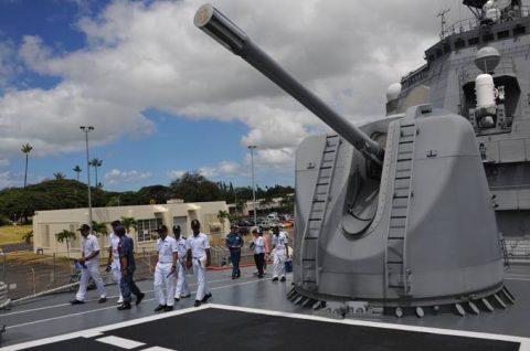 リムパック2016 護衛艦ちょうかい・ひゅうがの一般公開2