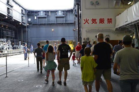 リムパック2016 護衛艦ちょうかい・ひゅうがの一般公開3