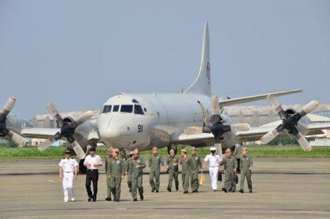 韓国海軍P3-CK 厚木基地を親善訪問【海上自衛隊】No2