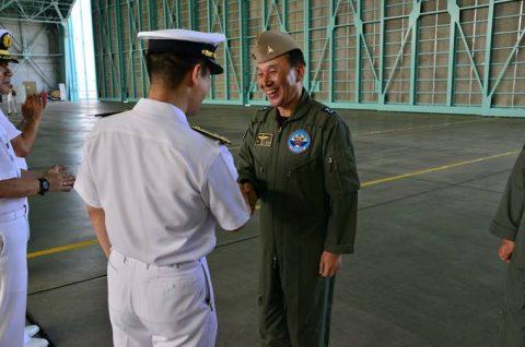 韓国海軍P3-CK 厚木基地を親善訪問【海上自衛隊】No3