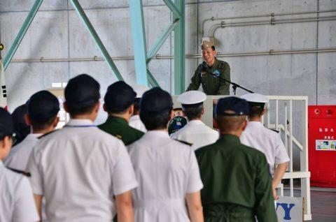 韓国海軍P3-CK 厚木基地を親善訪問【海上自衛隊】No6