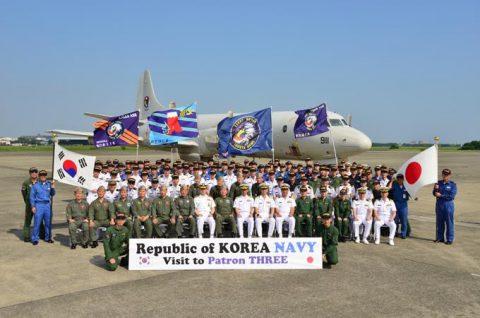 韓国海軍P3-CK 厚木基地を親善訪問【海上自衛隊】No7