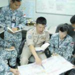 CTF151[ソマリア沖海賊対処多国籍艦隊]司令部で幕僚を勤めた河南3佐帰国