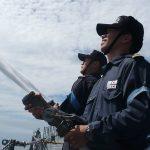 2016年度 防衛省海自 幹部候補生 遠洋航海(練習艦隊)8洋上