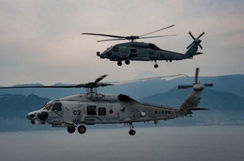 海上自衛隊 第51航空隊と米海軍HSM-51の共同訓練No1