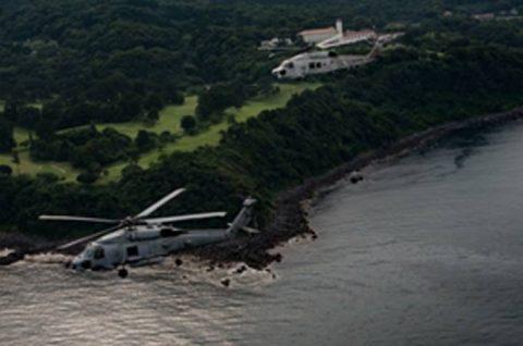 海上自衛隊 第51航空隊と米海軍HSM-51の共同訓練No3