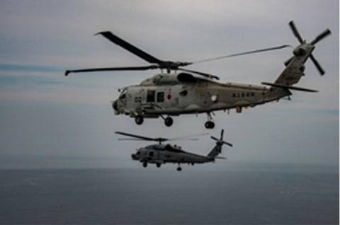 海上自衛隊 第51航空隊と米海軍HSM-51の共同訓練No4
