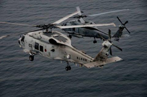 海上自衛隊 第51航空隊と米海軍HSM-51の共同訓練No5