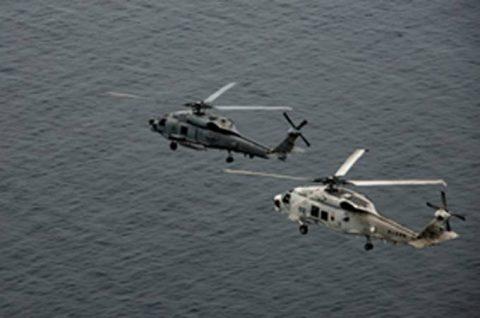 海上自衛隊 第51航空隊と米海軍HSM-51の共同訓練No6