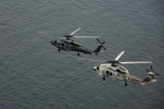 海上自衛隊 第51航空隊と米海軍H...