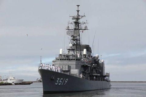 釧路東港において練習艦「やまゆき」艦艇広報 自衛隊帯広地方協力本部No01