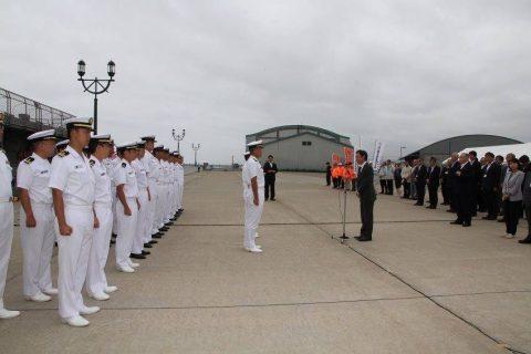 釧路東港において練習艦「やまゆき」艦艇広報 自衛隊帯広地方協力本部No02